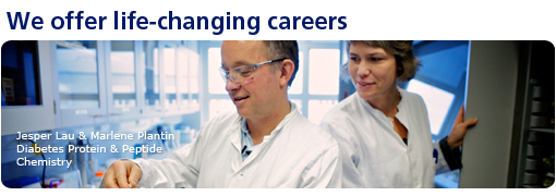 We offer life-changing careers